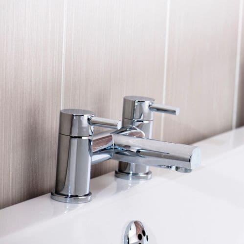 Jupiter Bolton Chrome Modern Lever Bathroom Bath Filler Tap DAL003