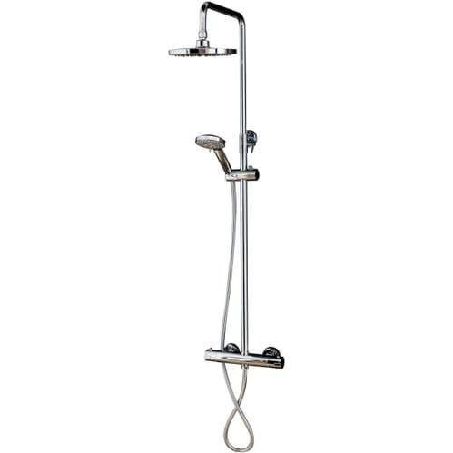 Jupiter Bolton Round Shower Thermostatic Shower Mixer & Riser Kit SK006