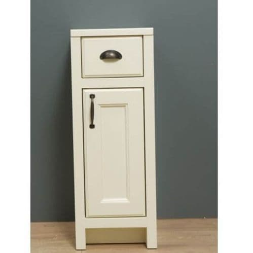 Jupiter Chartwell Painted 300mm Traditional 1 Door and 1 Drawer Cabinet
