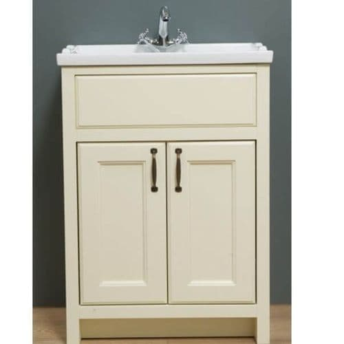 Jupiter Chartwell Painted 600mm Traditional 2 Door Basin Cabinet