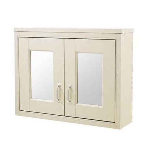 Jupiter Chartwell Painted 700mm Traditional 2 Door Mirror Cabinet