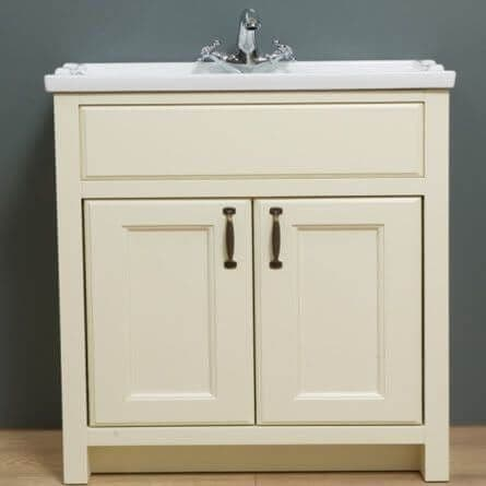 Jupiter Chartwell Painted 800mm Traditional 2 Door Basin Cabinet