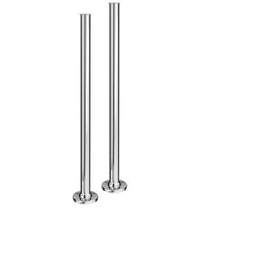 Jupiter Chrome Plated Standpipes for Freestanding Baths 1517001