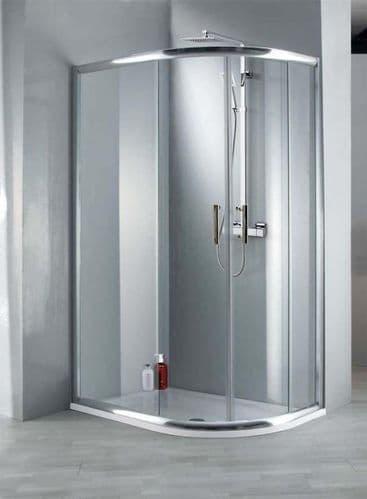 Jupiter Clarence 1200mm x 900mm Offset Quadrant Shower Enclosure 6mm Glass