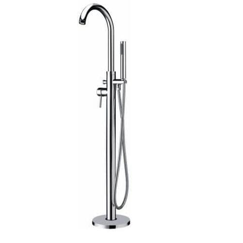 Jupiter Clove Chrome Freestanding Bath Shower Mixer - TF7368