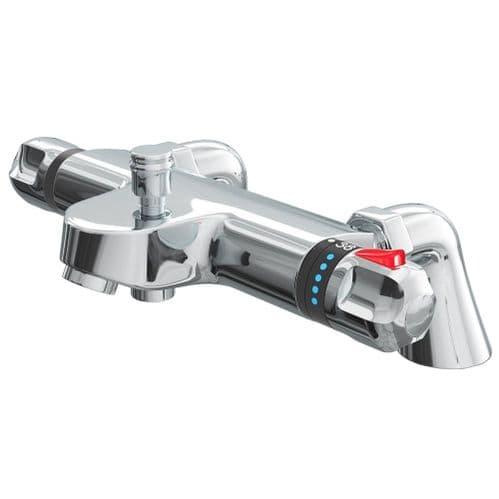 Jupiter Cork Modern Thermostatic Bath Shower Mixer Deck Mounted - BTMV01