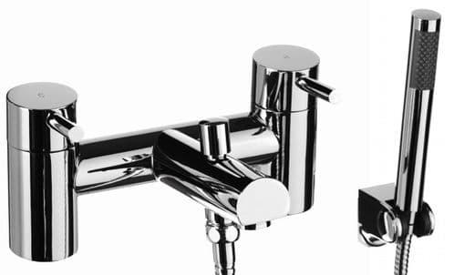 Jupiter Dalton Deck Mounted Bath Shower Mixer with Shower Head Kit DAL002