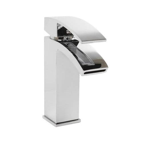 Jupiter Dawn Mono Basin Mixer Bathroom Waterfall Tap