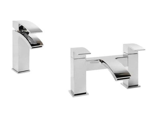 Jupiter Dawn Tap Basin Mixer & Bath Filler Bathroom Tap Pack