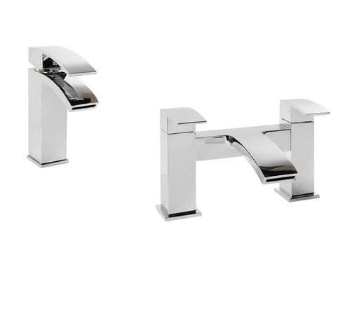 Jupiter Dawn Tap Basin Mixer & Bath Filler Bathroom Tap Pack