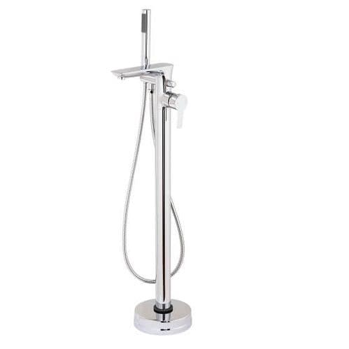 Jupiter Dublin Chrome Free Standing Bath Shower Mixer - PED005