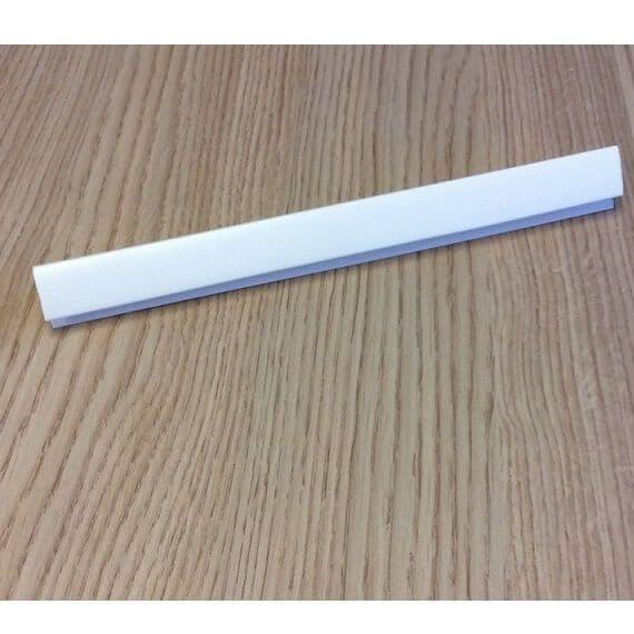 Jupiter External Corner White Trim - For use with 8mm or 10mm Panels