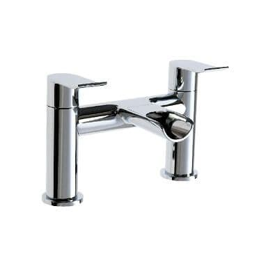 Jupiter Fermanagh Chrome Waterfall Bath Filler - LOU003