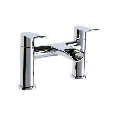 Jupiter Fermanagh Chrome Waterfall Bath Filler - LOU003