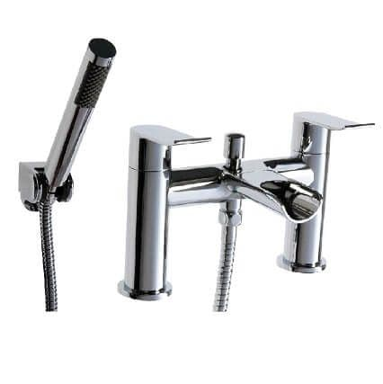 Jupiter Fermanagh Chrome Waterfall Bath Shower Mixer - LOU002