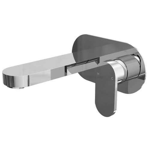 Jupiter Filo Wall Mounted Mono Basin Mixer Tap - FIL001