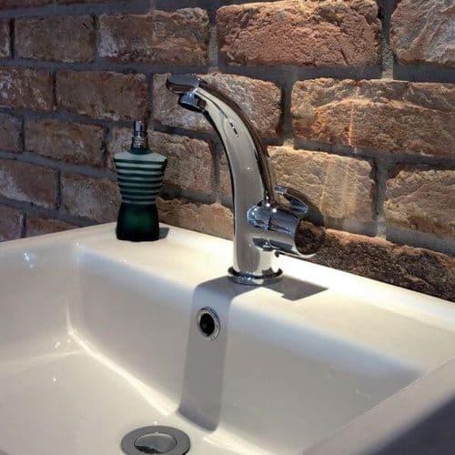 Jupiter Flume Chrome Basin Mixer Including Waste TF8202