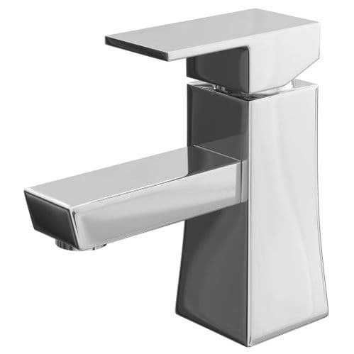 Jupiter Galway Mono Basin Mixer Tap Deck Mounted with CLICK WASTE - CAR001