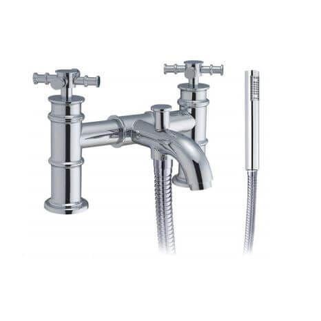 Jupiter Georgian Chrome Bath Shower Mixer - TF7801
