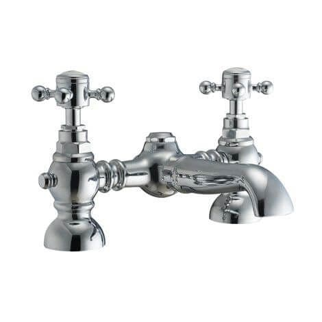 Jupiter Imperial Chrome Bath Filler Tap TF6005