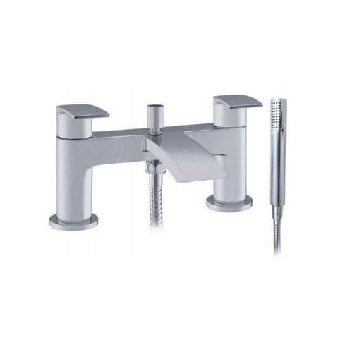 Jupiter Indigo Chrome Bath Shower Mixer - TF7501M
