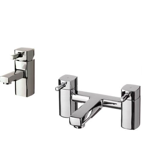 Jupiter London Chrome Bath Filler Mixer Set