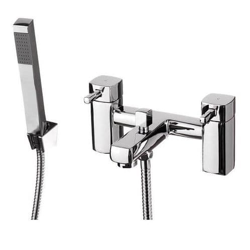 Jupiter London Chrome Bath Shower Mixer NER002