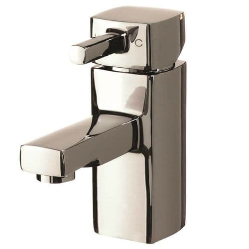 Jupiter London Chrome Mono Basin Mixer Bathroom Tap