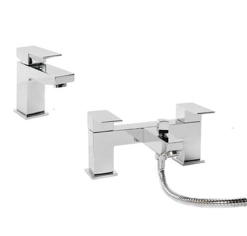 Jupiter Luna Tap Basin Mixer & Bath Shower Mixer Bathroom Tap Pack
