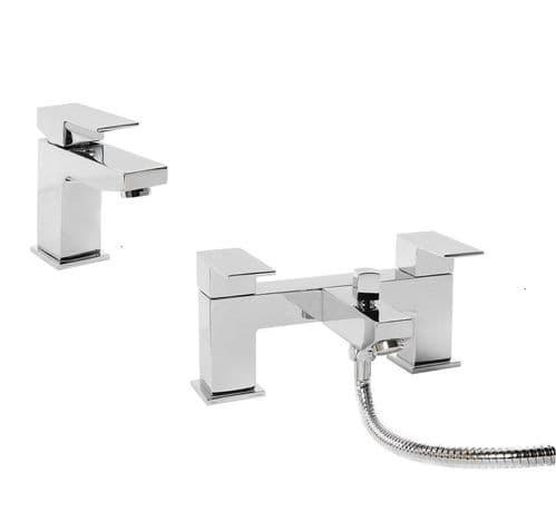 Jupiter Luna Tap Basin Mixer & Bath Shower Mixer Bathroom Tap Pack