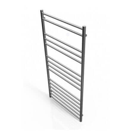 Jupiter Luxe Stainless Steel Vertical Designer Towel Rail Radiator L 1200mm x W 600mm