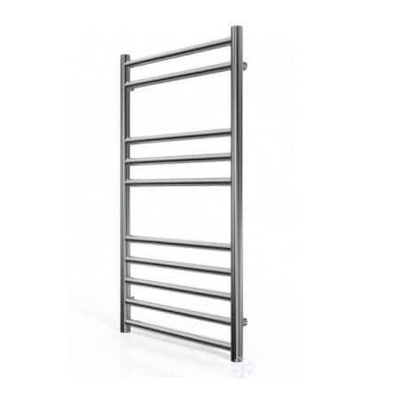 Jupiter Luxe Stainless Steel Vertical Designer Towel Rail Radiator L 800mm x W 600mm