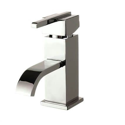 Jupiter Milan Chrome Single Lever Mono Basin Mixer Inc Click Clack Waste - EPI001