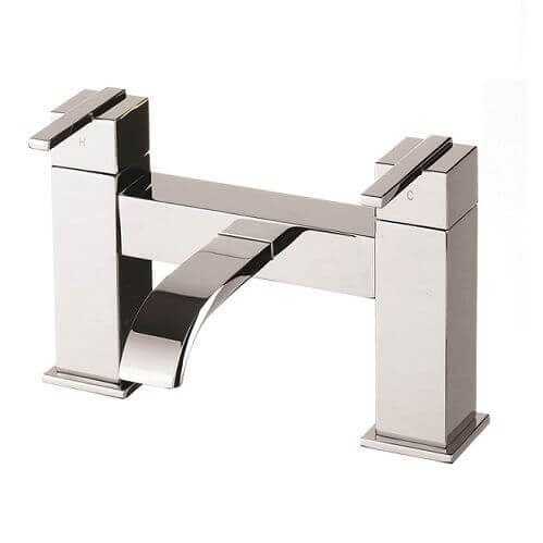 Jupiter Milan Chrome Two Handle Bath Filler EPI008