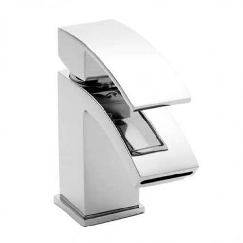 Jupiter Mini Dawn Mono Basin Mixer inc Click clack waste Waterfall Tap