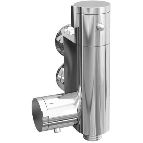 Jupiter Modern Vertical Thermostatic Shower Bar Valve VTBV01
