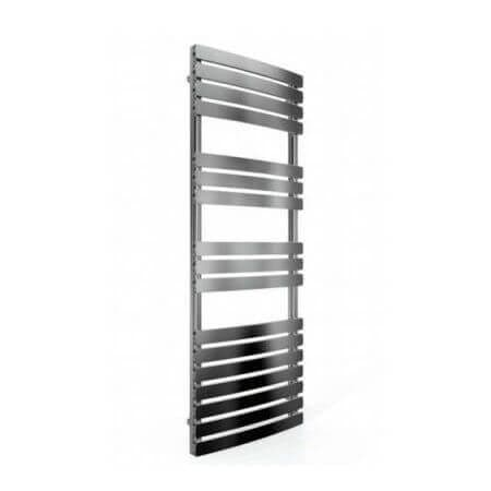 Jupiter Orchid Chrome Vertical Designer Towel Rail Radiator L 1200mm x W 500mm