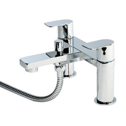Jupiter Pacific Chrome Bath Shower Mixer