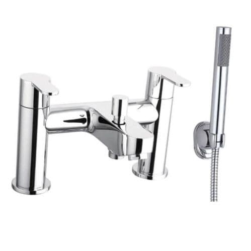 Jupiter Roma Chrome Two Handle Bath Shower Mixer ROM002