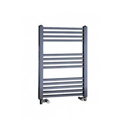 Jupiter Talon Chrome Vertical Designer Towel Rail Radiator L 800mm x W 500mm