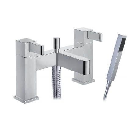 Jupiter Vertu Chrome Bath Shower Mixer - TF8401