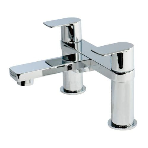 Jupiter Wind Chrome Modern Chrome Lever Style Bath Filler Mixer Tap WIND003
