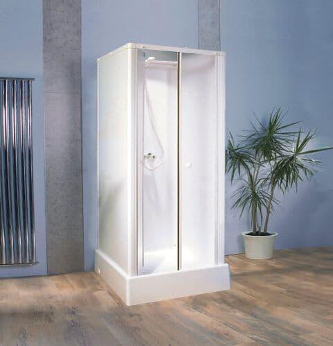 Kinedo Consort Watertight Saloon Door Shower Pod Cubicle 815mm x 815mm Silicon Free Cabin