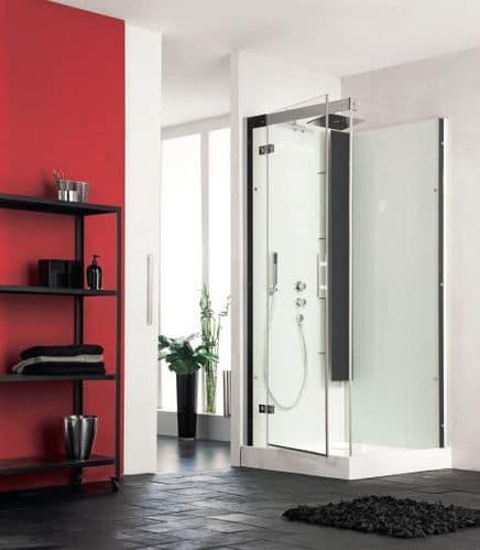 Kinedo Horizon Corner Watertight Pivot Door Shower Cubicle / Pod 800mm x 800mm