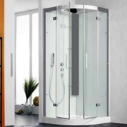 Kinedo Horizon Quadrant Watertight Pivot Door Shower Cubicle / Pod 900mm x 900mm