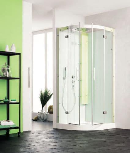 Kinedo Horizon Quadrant Watertight Sliding Door Shower Cubicle / Pod 900mm x 900mm