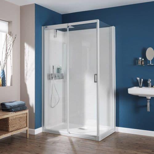 Kinedo Kinemagic 1400mm x 700mm Design Corner Watertight Sliding Door Shower Cubicle