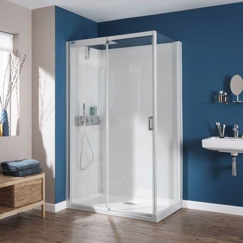 Kinedo Kinemagic 1400mm x 800mm Design Corner Watertight Sliding Door Shower Cubicle