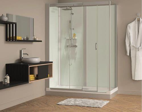 Kinedo Kinemagic 1700mm x 900mm Design Corner Watertight Sliding Door Shower Cubicle