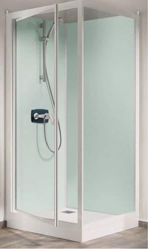 Kinedo Kineprime Watertight Pivot Door Shower Cubicle Pod 800mm x 800mm